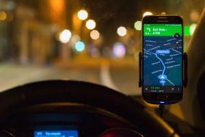 smartphone houder wagen